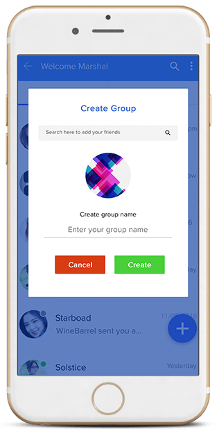 conference and group chat app
