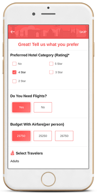 geek travel and tourism application notification feature